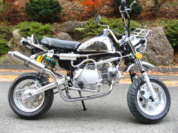 モンキーメッキカスタム50cc&125cc NO1