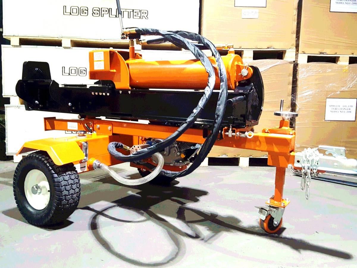 新品 50t 50トン 薪割り機 エンジンTYPE 組立済み発送