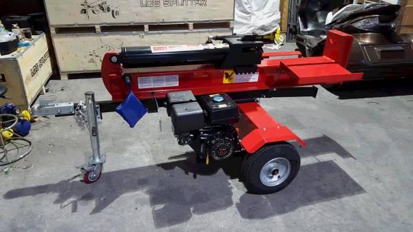 新品 15hp 420cc エンジン式薪割り機40t 組立済み発送