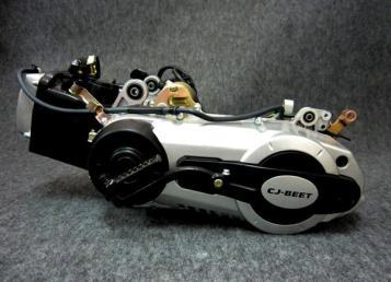 125ccスクーター用GY6エンジン セルキック付き