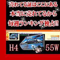 KINGWOOD 55W H11/HB3/HB4 HIDコンバージョンキット【デジタルIC薄型バラスト採用】【55Wハイパワー!】