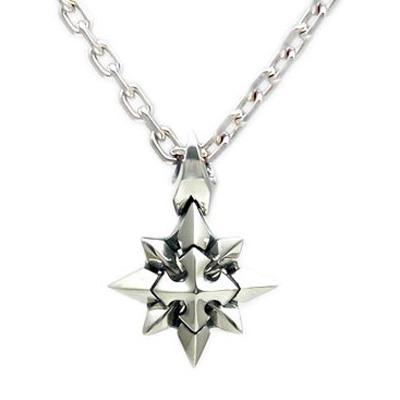 送料無料シルバーペンダントネックレス雪の結晶ペンダント ダグダート DT-232~Shining Crystal~