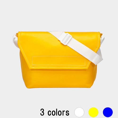 メッセンジャー バッグ (ビーチ) バレー ボール レザー 3色
