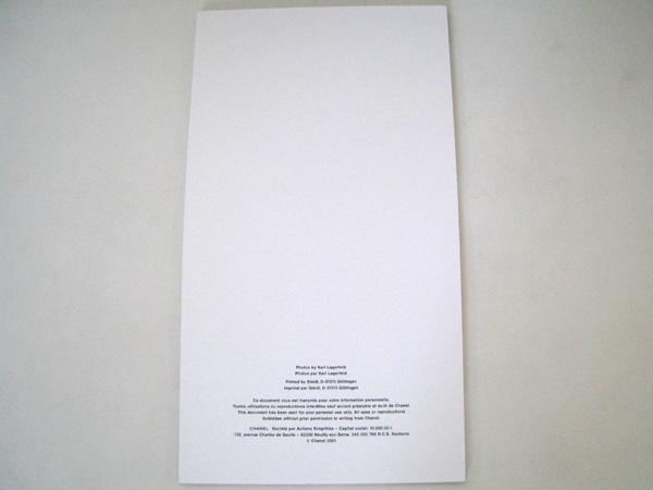 021ce45819c5 CHANELシャネルカタログフォトブック【本物☆美品☆非売品】CHANEL2001【中古