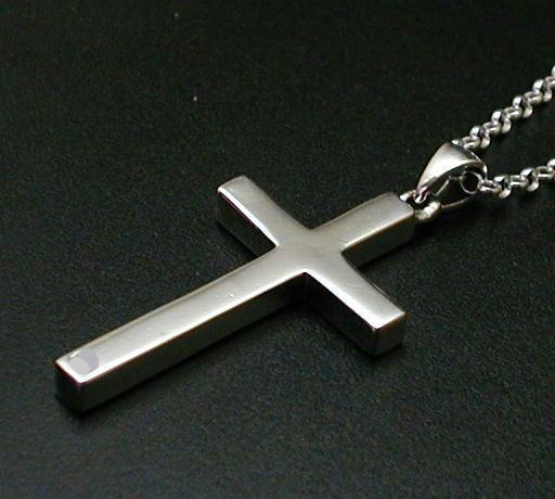 クロスネックレス シルバーネックレス メンズネックレス シンプル ペンダント 十字架ネックレス シルバーペンダント シルバーアクセサリー 男 女 兼用 シルバーペンダント