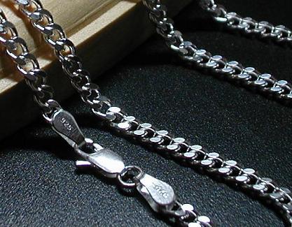 送料無料◆55cm4面カット最高品質!純銀!喜平チェーンCD155