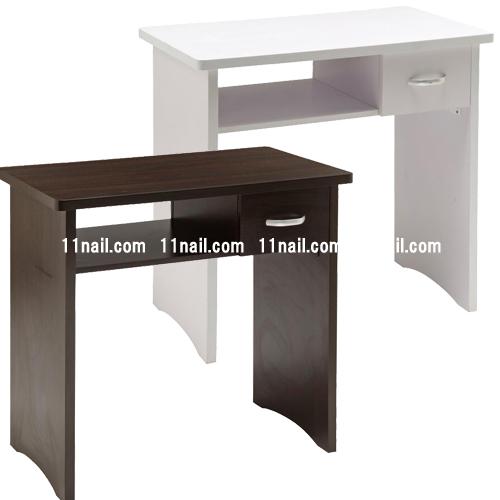 [サロン用ネイルデスク]メインネイルテーブル(UVランプ収納棚付) Basic[ベーシック]各色