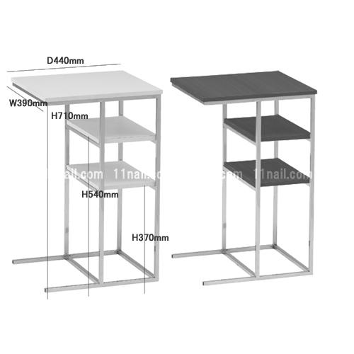廃盤[ネイルサイドテーブル]電動ネイルチェア用サイドテーブル各色[FV511]代引不可