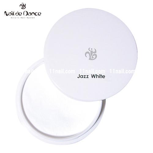 [ネイルデダンス]パウダー ジャズホワイト(400gリフィル)/アクリル用品パウダーNail de Dance