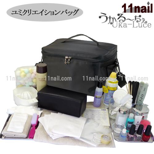 [ネイリスト検定用品]基本フルセット【うかる~ちぇユミクリエーションバッグ/選べるネイルブランド】【検定】【送料無料】