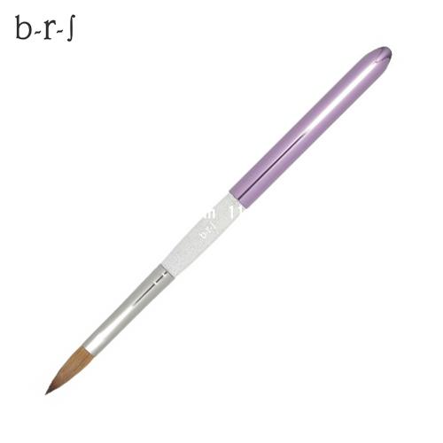 [b-r-sブルーシュ]アクリルスカルプ用ブラシ/キャップつき【#N803R】【検定】【ブラシ】