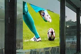 4K対応!プロジェクタースクリーンリア投影型フィルムスクリーン(粘着剤付き)130cm幅 RSf-130n