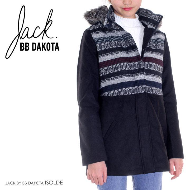 JACK BY BB DAKOTA アウター レディース ISOLDE JD30692 XS/S/M/L ブラック