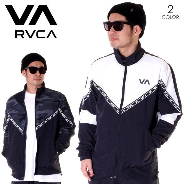RVCA ルーカ ジャケット メンズ CONTROL TRACK JACKET AJ041-756 2019春夏 ブラック/カモ S/M/L/XL 【evi】