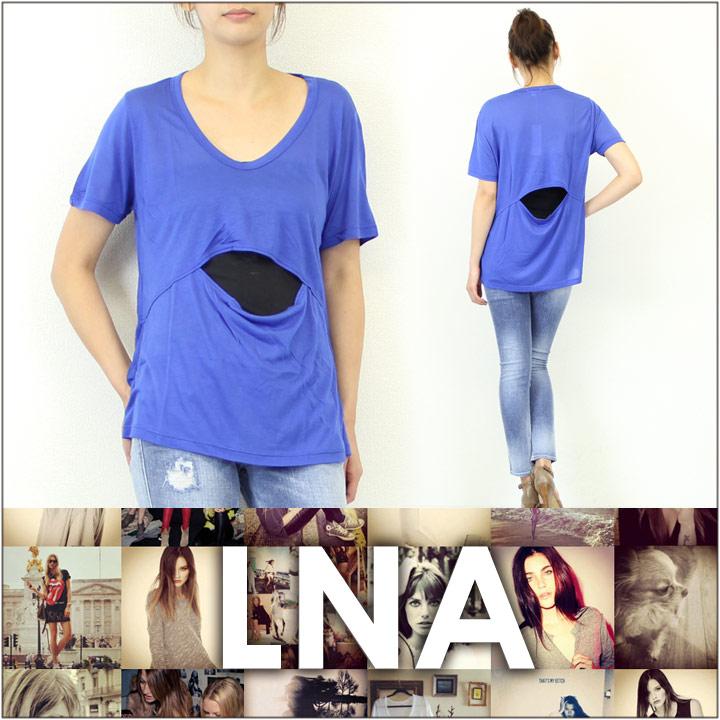 LNA エルエヌエー Tシャツ MOON TEE