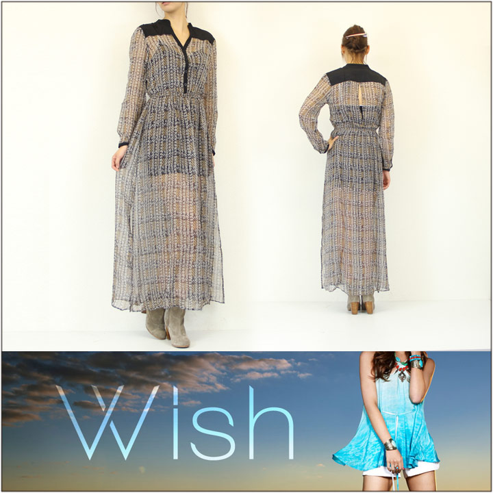 WISH / ウィッシュ ロング ワンピース PANDEMONIUM DRESS