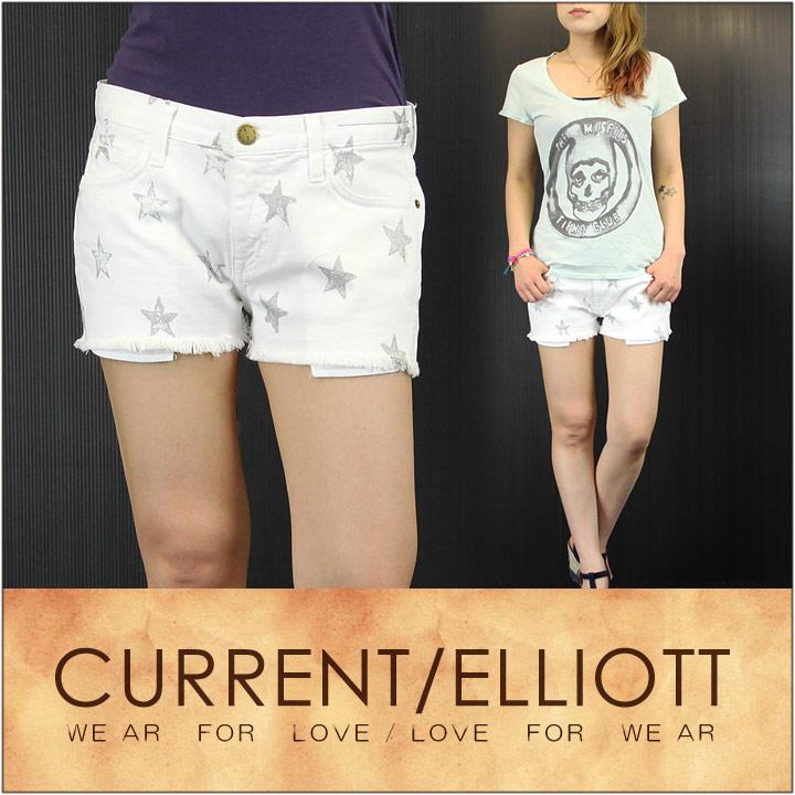 CURRENT ELLIOTT カレントエリオット デニム ショート パンツ THE BOYFRIEND SHORT