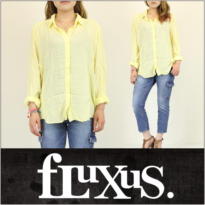 FLUXUS / フルクサス レディース シャツ TRONA SHIRT