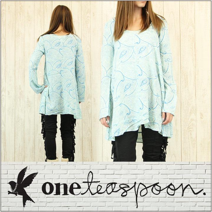 ONE TEASPOON ワンティースプーン ワンピース レディース SANTA-FE PAISLEY DRESS