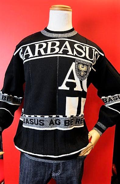【アンジェロ ガルバス】【ANGEROGARBASUS】【セーター】【秋冬セール61%OFF】【メンズ】【ブランド】【ニット】【メンズファッション】【アンジェロ服】 ロゴセーター ブラック