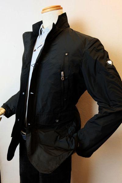 【セール60%OFF】 カプリ CAPRI 【カバーオールジャケット】【秋冬アウトレット現品限り品】【メンズウェア】【ブルゾン】【カプリ服】 カバーオールジャケット ブラック