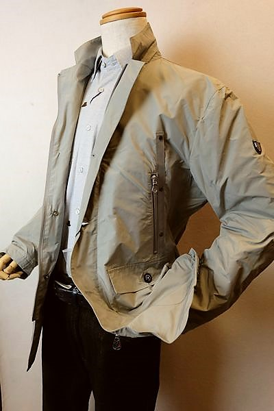 【セール60%OFF】 カプリ CAPRI 【カバーオールジャケット】【秋冬アウトレット現品限り品】【メンズウェア】【ブルゾン】【カプリ服】 カバーオールジャケット グレー
