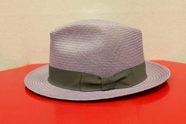 セラノハット serrano hat【パナマ帽】【エクアドル】【メンズ帽子】 パナマ帽 パープル