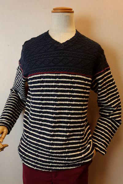 【セール30%OFF】 アルコットヒル【ロングTシャツ】【2019秋冬新作】【メンズウェア】【アンジェロ】【カットソー】【アルコットヒル服】 ストレッチロングTシャツ ブルー Alcott hill