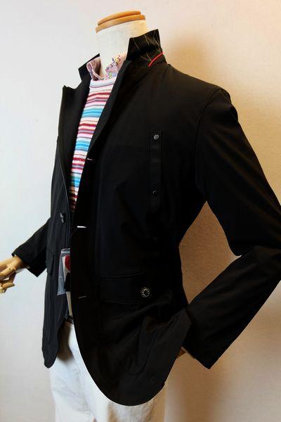 【セール50%OFF】 カプリ 【カバーオールジャケット】【春夏アウトレット現品限り品】【メンズウェア】【ブルゾン】【カプリ服】 カバーオールジャケット ブラック CAPRI