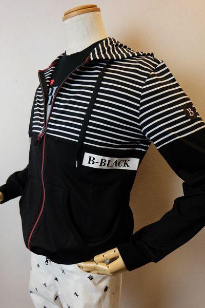 【セール50%OFF】 バラシビーブラック 【パーカー】【2020春夏新作】【メンズウェア】【カットソー】【バラシ服】 切り替えパーカー ブラック barassi b-black