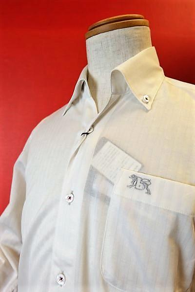 【セール50%OFF】【春夏アウトレット現品限り品】【バラシ】【barassi】【カジュアルシャツ】【メンズ】【ブランド】【ボタンダウンシャツ】【メンズファッション】【バラシ服】 GIZAコットンワンピースボタンダウンシャツ ホワイト