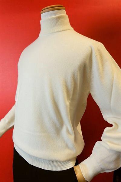 【セール35%OFF】 ジーゲラン GEEGELLAN 【日本製カシミヤセーター】【2018秋冬新作】【メンズ】【ハイネックセーター】【ニット】【メンズファッション】【ジーゲラン服】 カシミヤ100%ハイネックセーター オフホワイト