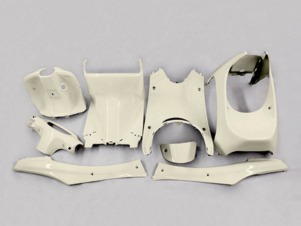 ホンダ ライブディオ(AF34/AF35)2型 インナーカウル 8点セット ベージュ色