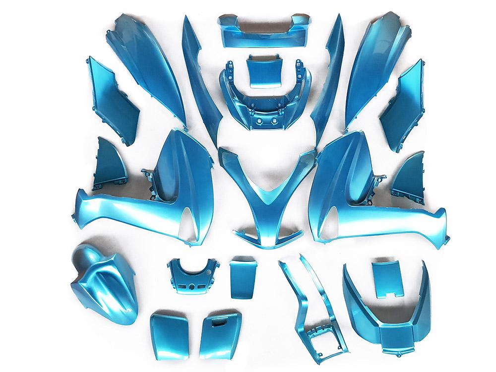 ★★マジェスティ 250 (SG20J 4D9) スクーター 外装 カウル 塗装済み 22点セット 空色(スカイブルー) NEW MAJESTY250