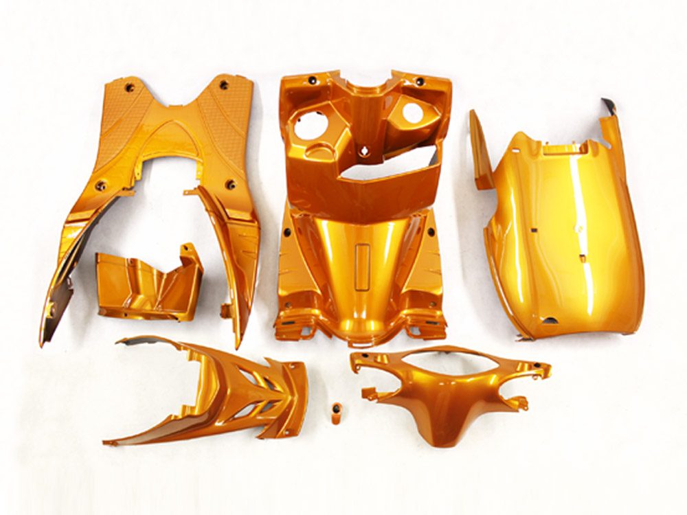 ヤマハ シグナスX(SE44J) インナーカウル 7点セット 橙色オレンジ