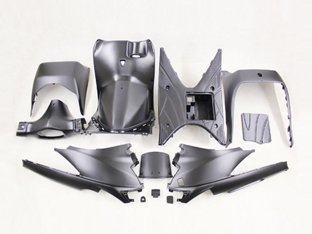 アドレスV125/G(CF46A/4EA)塗装済みインナーカウル12点 艶消し黒 ススキ バイクパーツ カウル