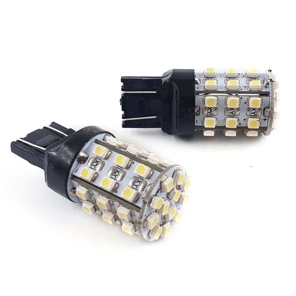 一押し T20 7443 1210SMD42連 LEDバルブ 毎日激安特売で 営業中です 2個 売買 ダブル球 2段照度 白