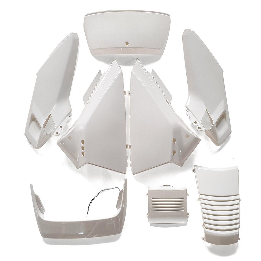 フュージョンMF02ハイマウントLED灯付き外装アッパー 白色8点Set 8点Set
