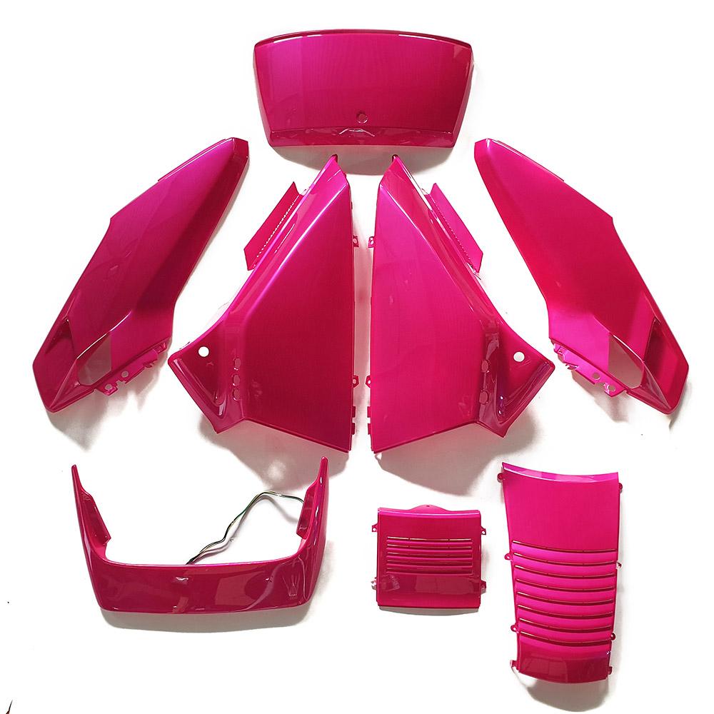 ホンダ フュージョンMF02 外装アッパー ピンク(なでしこ)色 8点セット