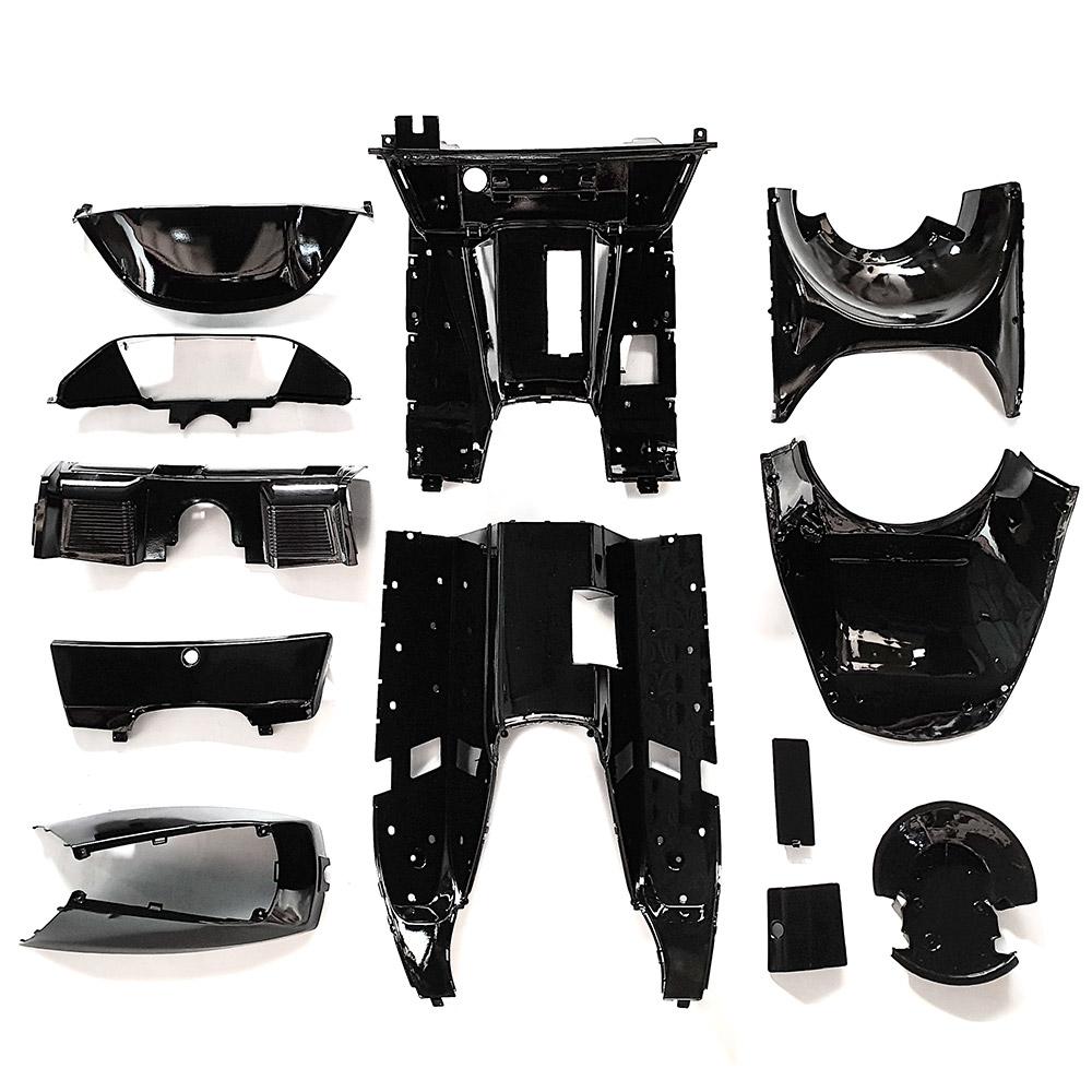 インナーカウル セット1式 黒塗装済み フュージョン MF02