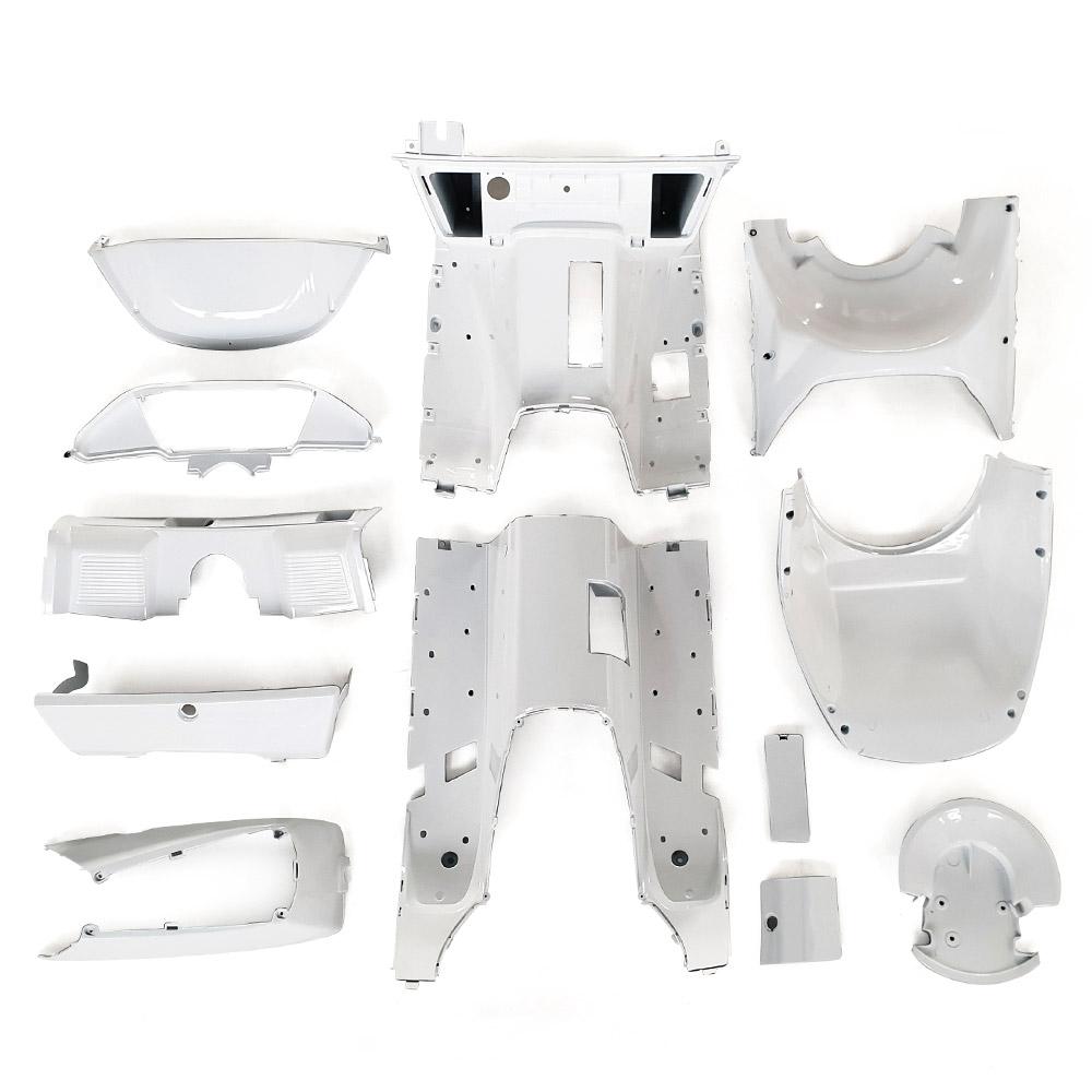 インナーカウル 1式 塗装済み 白(パールホワイト) フュージョンMF02