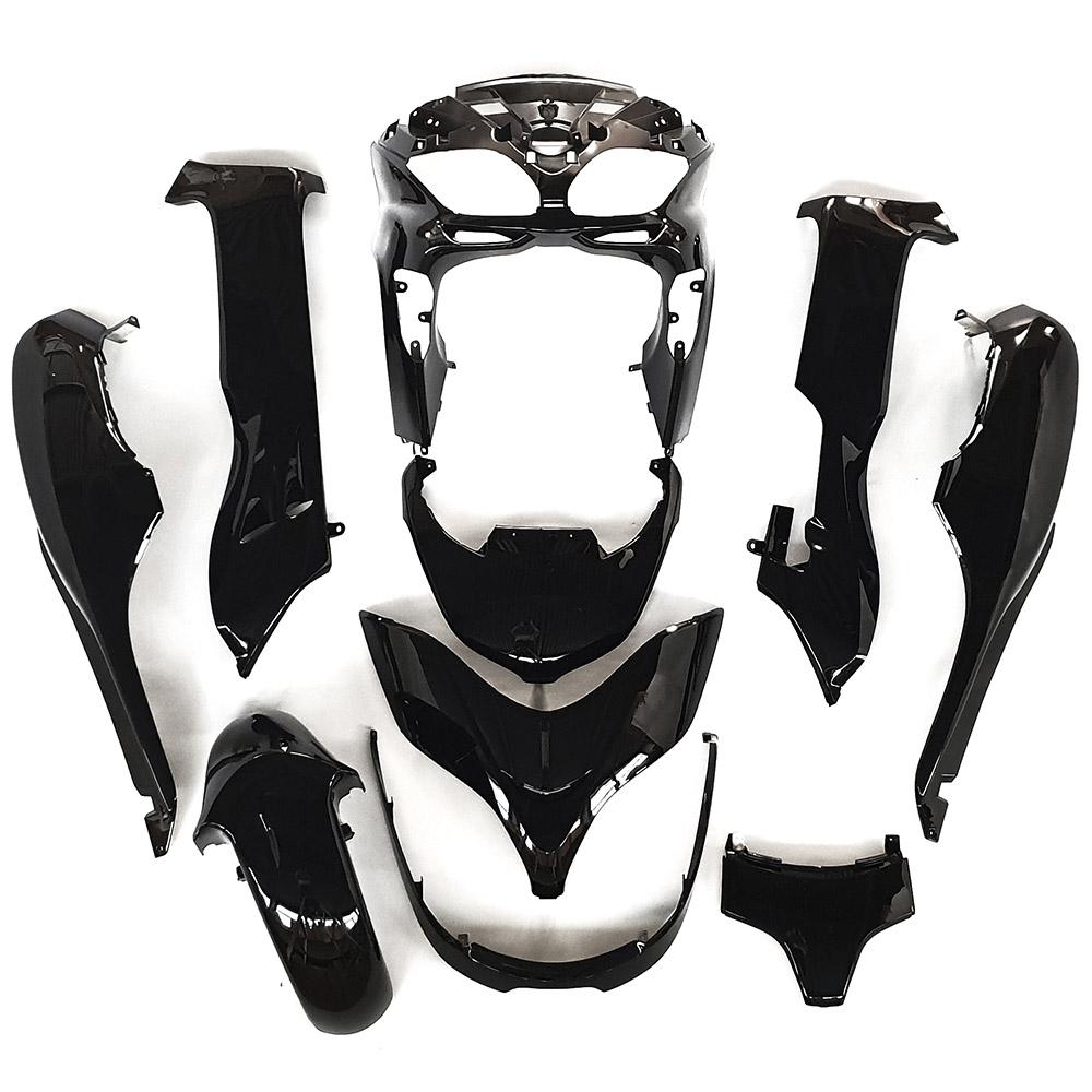 ホンダ フォルツァMF08-Z/X 外装カウル 10点セット 黒色