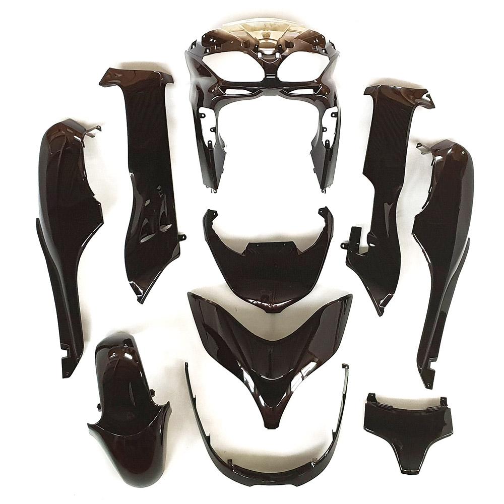 ホンダ フォルツァMF08-Z/X 外装カウル 10点セット 茶色