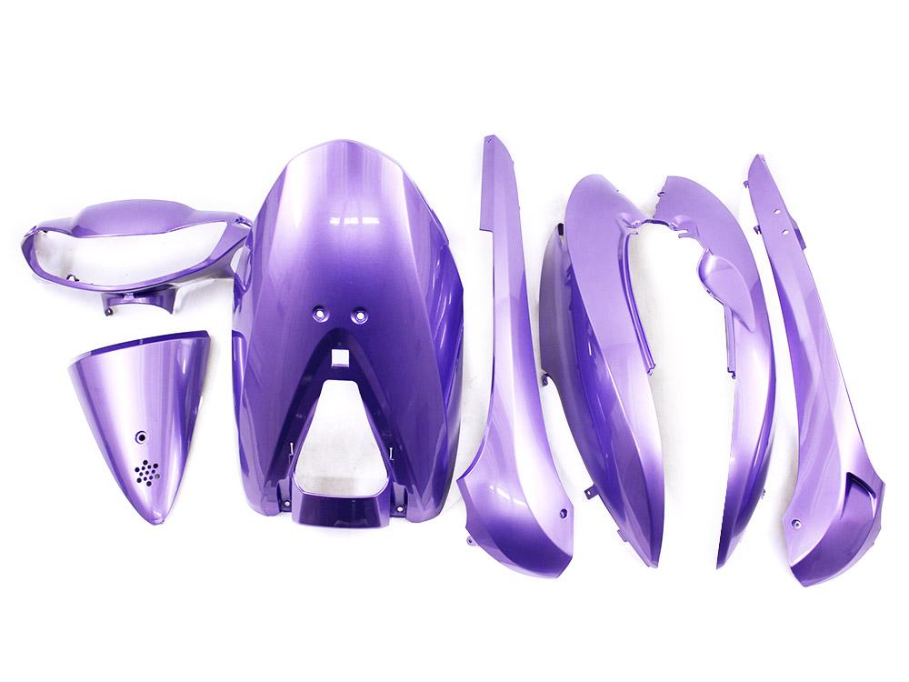特 ホンダ ディオDio(AF62/AF68) 外装カウル 紫色ラベンダー HONDA 外装セット