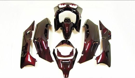 フォルツァ-S/X MF06外装カウル 1式(ワイン赤色) 9点Set