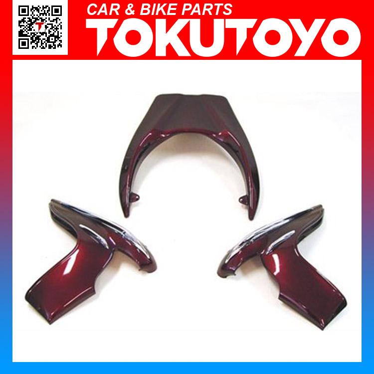 ホンダ FORZA フォルツァMF08 ワイン色塗装エアロ(サイド&リアスポイラー) 3点 外装カウル