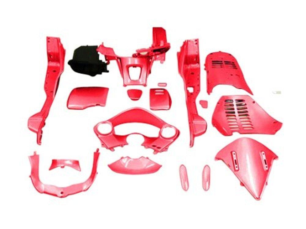フォルツァMF10 赤色塗装済み インナーカウル 18点Set
