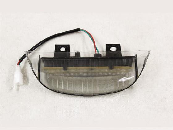 一押し ホンダ DIO ディオ ZX/Z4 リアスポイラー用 LEDランプ スモーク仕様