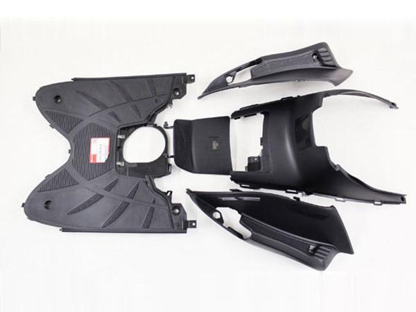 リード110(JF19) 純正タイプ フロアステップ 周り カバー 5点Set ホンダ フロアボード カウル