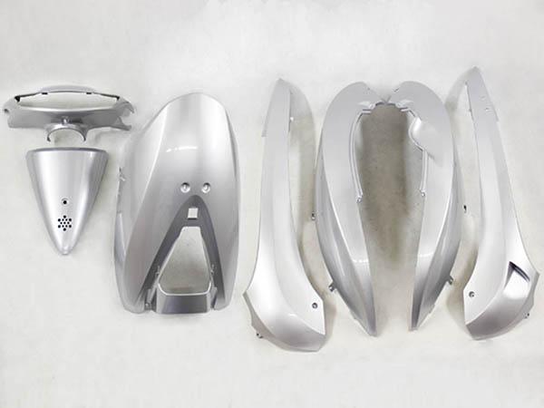 【特】ホンダ DIO ディオ(AF62/AF68) 外装カウル 7点セット 銀色シルバー